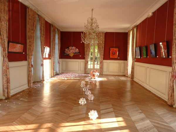Exposition au Château de Belleville